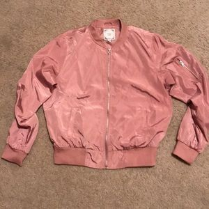 Pink Bomber Jacket, BRAND NEW!!!! NEVER worn!!!
